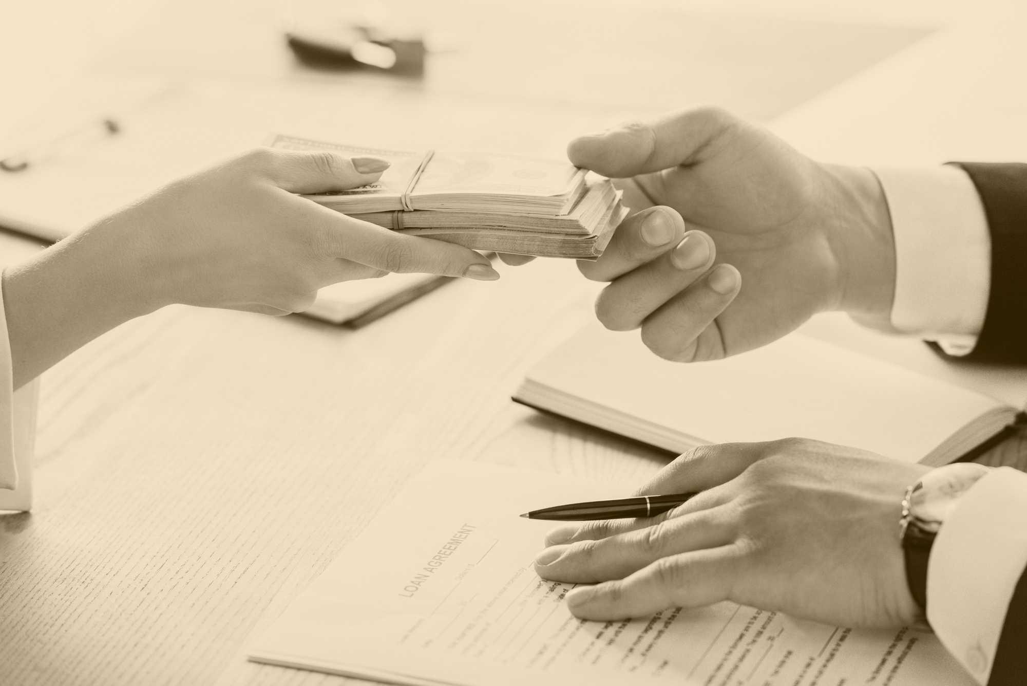 кредитной истории клиента